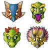 Beistle Dinosaur Masks (12 packs) - Dinosaurs Party Theme