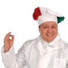 Oversized Fabric Chef's Hat - Italian