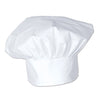 Oversized Fabric Chef's Hat ->