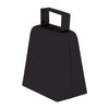 Party Noisemakers - Cowbells, black