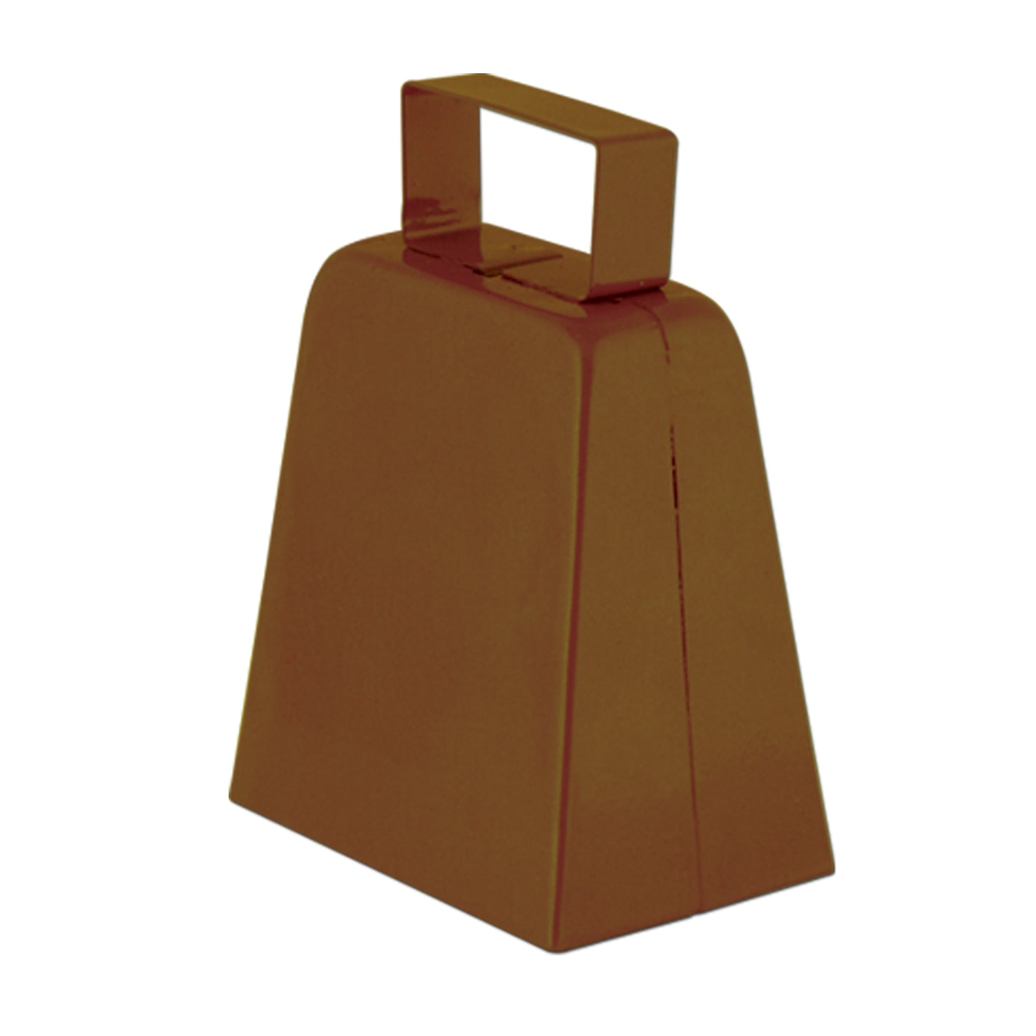 12case Beistle Party Cowbells Brown Bulk Party Supplies