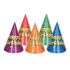 Balloon & Confetti Birthday Hats