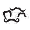 Western Party Supplies - Printed Villain Moustaches