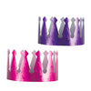 Embossed Foil Crowns Assortmentd colors