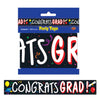 Beistle Congrats Grad Party Tape (Pack of 12) - Graduation Party Decorations, Miscellaneous Graduation Decorations