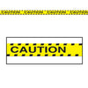 Halloween Party Supplies - Caution'' Party Tape