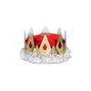 Medieval Party Supplies - Royal Queen's Crown - red