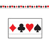 Casino Party Supplies - Card 'suit' Party Tape