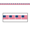 Patriotic Party Supplies - American Flag Party Tape