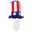 Plush Patriotic Hat with Beard, party supplies, decorations, The Beistle Company, Patriotic, Bulk, Holiday Party Supplies, 4th of July Political and Patriotic, 4th of July Stuff to Wear