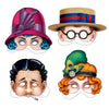 20's Masks, party supplies, decorations, The Beistle Company, 20's, Bulk, Other Party Themes, Roaring 20's Party Theme