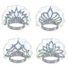 Party Accessories - Prismatic Tiaras - silver