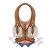 Western Theme Party Supplies: Plastic Cowgirl Vest