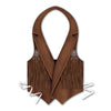 Western Theme Party Supplies: Packaged Plastic Cowboy Vest