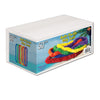 Soft-Twist Poly Leis with Labeled Box - assorted colors