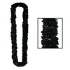 Soft-Twist Poly Leis - black