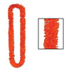 Luau Party Supplies - Soft-Twist Poly Leis - orange
