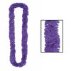 Luau Party Supplies - Soft-Twist Poly Leis - purple