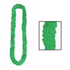 Luau Party Supplies - Soft-Twist Poly Leis - green