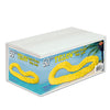 Luau Party Supplies - Soft-Twist Poly Leis with Labeled Box