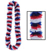 Patriotic Party Supplies - Soft-Twist Patriotic Poly Leis