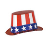 Patriotic Party Supplies - Red, White & Blue Hi-Hat