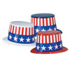 Patriotic Toppers assorted red, white, blue