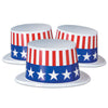 Plastic Topper with Patriotic Band, party supplies, decorations, The Beistle Company, Patriotic, Bulk, Holiday Party Supplies, 4th of July Political and Patriotic, 4th of July Stuff to Wear