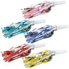Packaged Fringed Party Blowouts - assorted colors