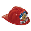 Red Plastic Jr Firefighter Hat