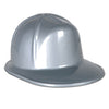 Beistle Silver Plastic Construction Helmet (Pack of 48) - General Party Accessories, Party Hats, Party Stuff to Wear