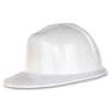 Party Accessories - White Plastic Construction Helmet