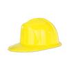 Party Accessories - Yellow Plastic Construction Helmet