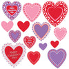 Beistle Valentine's Day Cutouts (12 packs) - Valentines Day Party Decorations, Valentines Day Party Supplies