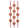 Valentine Party Supplies: Heart Ribbon Stringers