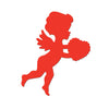 Valentines Day Party Supplies - Printed Cupid Cutout