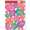 Valentines Day Party Supplies - Candy Heart Clings
