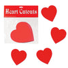 Valentines Day Printed Heart Cutouts