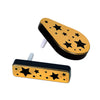 Plastic Metalic Noisemakers black & gold