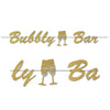 Beistle Bubbly Bar Streamer (Pack of 12) - New Year's Eve Decorations, New Year's Eve Party Supplies, New Years Eve Signs and Banners