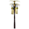 New Year Cascade Hanging Column black & gold