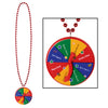 Beads with New Year Spinner Medallion