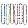 Happy New Year Bead Necklace - assorted colors