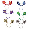 Soft-Touch Happy New Year Star Boppers - assorted colors