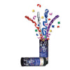 New Year's Eve Confetti Bursts - multi-color