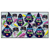 Neon Midnight New Year's Eve Party Kit for 50 People