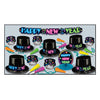 Neon New Year's Eve Party Kit for 10 People