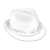 Chairman White Hat, party supplies, decorations, The Beistle Company, New Years, Bulk, Holiday Party Supplies, Discount New Years Eve 2017 Party Supplies, 2017 New Year's Eve Stuff to Wear, New Year's Eve Hats and Tiaras