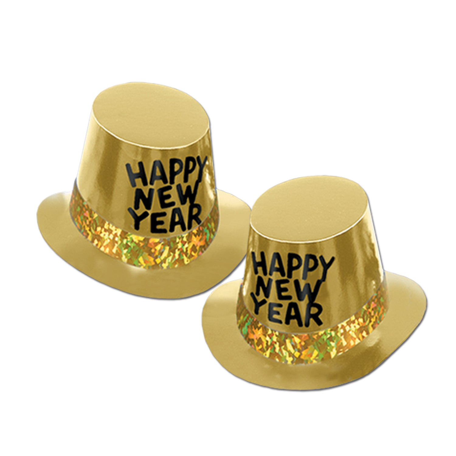 748d8e5b898 25 Case) Beistle Gold Rush New Years Party Hi-Hat - Bulk Party Supplies