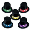 Midnight Magic New Years Party Topper Hats